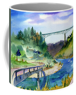 Foresthill Bridge #2 Coffee Mug