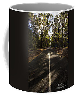 Coffee Mug featuring the photograph Forestry Road Landscape by Jorgo Photography - Wall Art Gallery