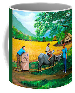 Forex 1 Coffee Mug by Lorna Maza