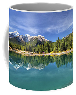 Forget Me Not Pond Panorama Coffee Mug