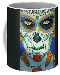 Forget Me Not Portrait 01 Coffee Mug