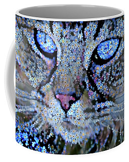 Forget Me Nots Cat - Unforgettable Coffee Mug