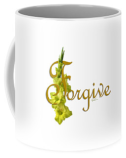 Forgive Coffee Mug by Ann Lauwers
