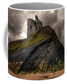 Forgotten Castle In Ballybunion Coffee Mug