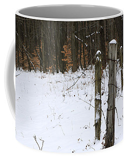 Coffee Mug featuring the photograph Forgotten Posts by Rick Morgan