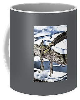 Forgotten Saddle Coffee Mug by Nicki McManus