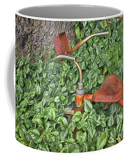 Coffee Mug featuring the photograph Forgotten - Tricycle by Nikolyn McDonald