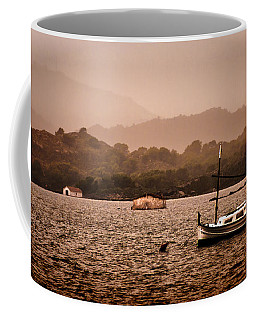 Fornells Bay In Menorca Island - Even Most Beautiful Places Have Secrets To Hide By Pedro Cardona Coffee Mug