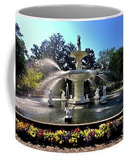 Forsyth Fountain In Spring Coffee Mug