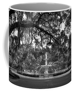 Forsyth Park Fountain 2 Savannah Georgia Art Coffee Mug by Reid Callaway