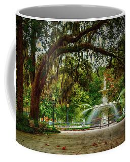 Forsyth Park Fountain Coffee Mug