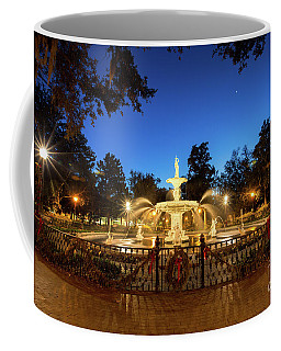 Forsyth Park Water Fountain Coffee Mug by Robert Loe