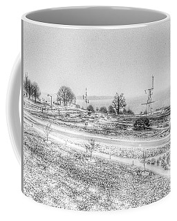 Fort Allen Park First Snowfall Coffee Mug