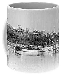 Fort George Amusement Park Coffee Mug by Cole Thompson