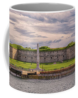 Fort Independence At Castle Island Coffee Mug