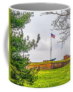 Coffee Mug featuring the photograph Fort Mchenry National Monument  by Nick Zelinsky