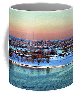 Fort Mchenry Shrouded In Snow Coffee Mug