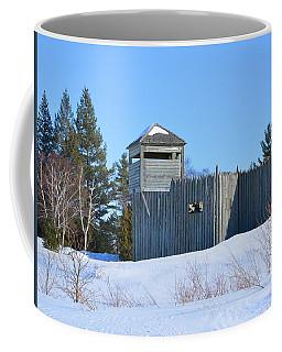 Fort Michilimackinac Northeast Blockhouse Coffee Mug