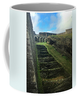 Coffee Mug featuring the photograph Fort Of Monte Brasil by Kelly Hazel