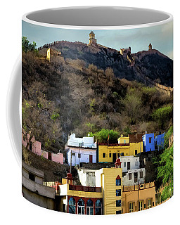 Fort On A Hill Coffee Mug