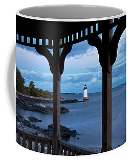 Fort Pickering Light - Salem Ma Coffee Mug by Joann Vitali