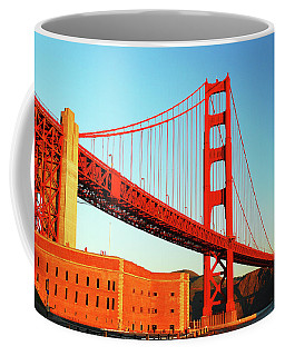 Fort Ross At The Golden Gate Coffee Mug