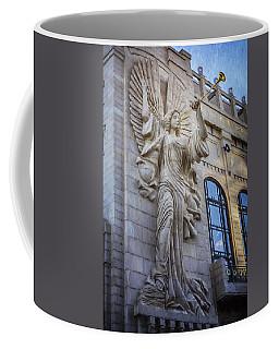 Fort Worth Impressions Bass Hall Angel Coffee Mug