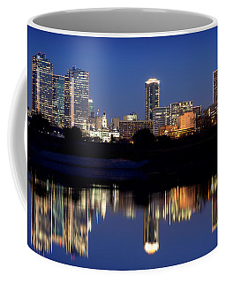 Fort Worth Reflection 41916 Coffee Mug