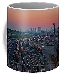 Fort Worth Trainyards Coffee Mug