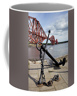 Coffee Mug featuring the photograph Forth Bridge by Jeremy Lavender Photography