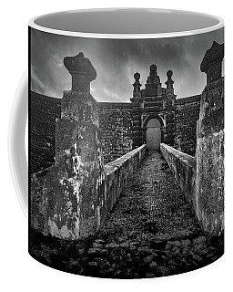 Coffee Mug featuring the photograph Fortress Of Sao Joao Baptista, Monte Brasil, Terceira by Kelly Hazel
