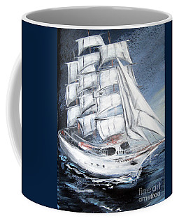 Fortunate. Sailing Ship Coffee Mug