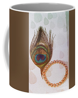 Fortune Assets Of Lord Krishna Coffee Mug by Kiran Joshi