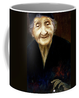 Fortune Teller Coffee Mug by Yvonne Wright