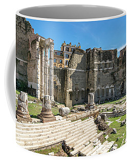 Coffee Mug featuring the photograph Forum Of Augustus by Scott Carruthers