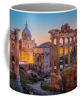 Forum Romanum Dawn Coffee Mug