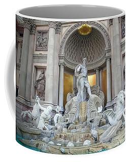 Forum Shops Statues At Ceasars Palace Coffee Mug