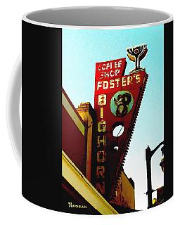 Foster's Bighorn Cafe Coffee Mug by Sadie Reneau