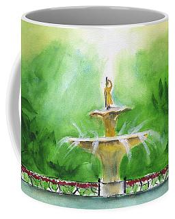 Fountain At Forsyth Park Coffee Mug