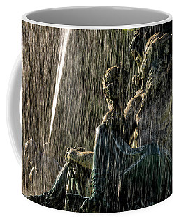 Fountain At Rossio Square Coffee Mug