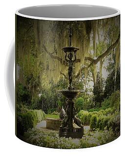 Fountain In A Garden Coffee Mug