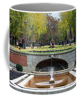 fountain in Buen Retiro  Coffee Mug