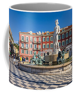 Fountain Of The Sun At Place Massena In Nice Coffee Mug