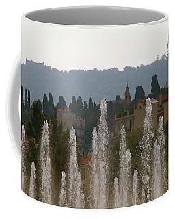 Fountains At Dawn Coffee Mug