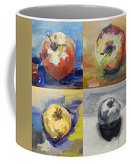 Four Apples A Day Coffee Mug