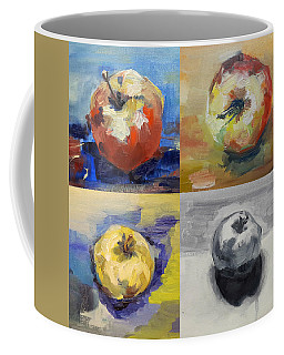 Four Apples A Day Coffee Mug