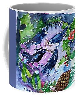 Four Calling  Birds Coffee Mug