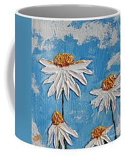 Four Daisies Coffee Mug