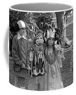 Four Girls In Halloween Costumes, 1971, Part Two Coffee Mug