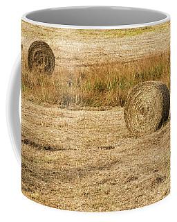 Four Hay Balls -  Coffee Mug